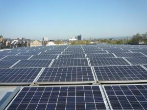 Solaranlage Rhein-Neckar-Halle